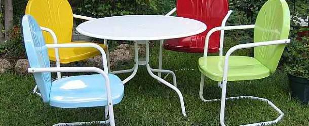 20 Fun and Functional Metal Outdoor Furniture
