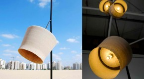 This Desert Storm Lamp Will Give Your Home a Sandy Shine