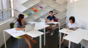 Enjoy Filling Spaces with the Flexible Multifunctional Tetris Table