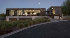 Fabulous Mountain Views and Exteriors of the Yerger Residence in Arizona