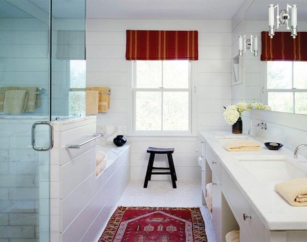 Modern Farmhouse Bathroom 25 beautiful farmhouse style bathrooms | home design lover