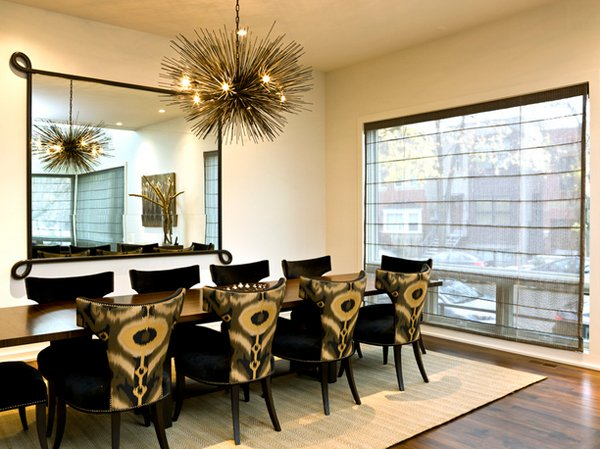 Lovely Dining Room With Stunning Mirrors Home Design Lover