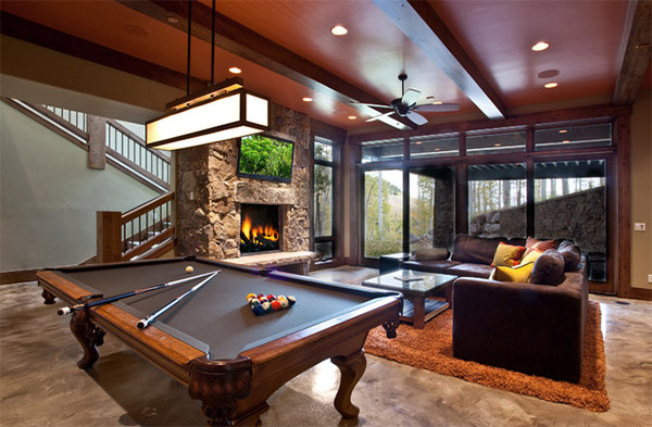 20 Man Cave Finished Basement Designs You 39 Ll Totally Envy