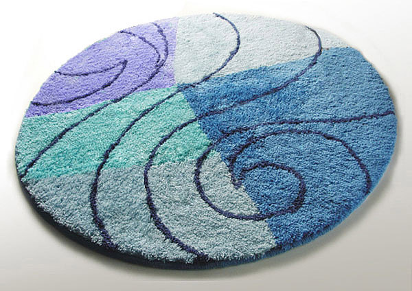 Bathroom Round Rugs Home Decor