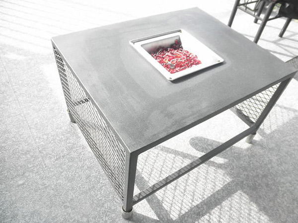 patio fire table