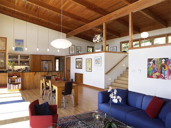20 Mezzanine Designs In Sloped Ceiling Homes