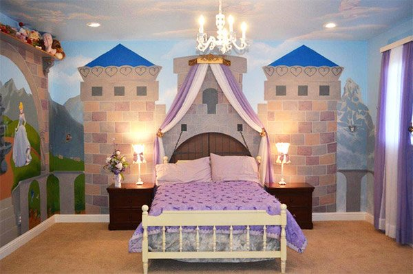 Princess Nursery Bedroom. 20 Princess Themed Bedrooms Every Girl Dreams Of   Home Design Lover