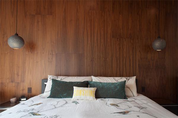 walnut paneling
