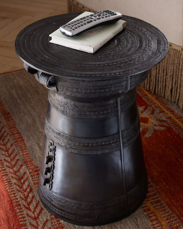 Chinese Drum Coffee Table: 20 Fantastic Asian Furniture: Accent And Side Tables