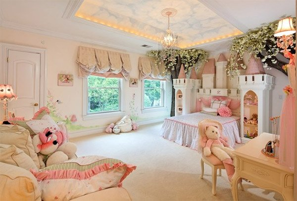 Princess Bedroom. 20 Princess Themed Bedrooms Every Girl Dreams Of   Home Design Lover