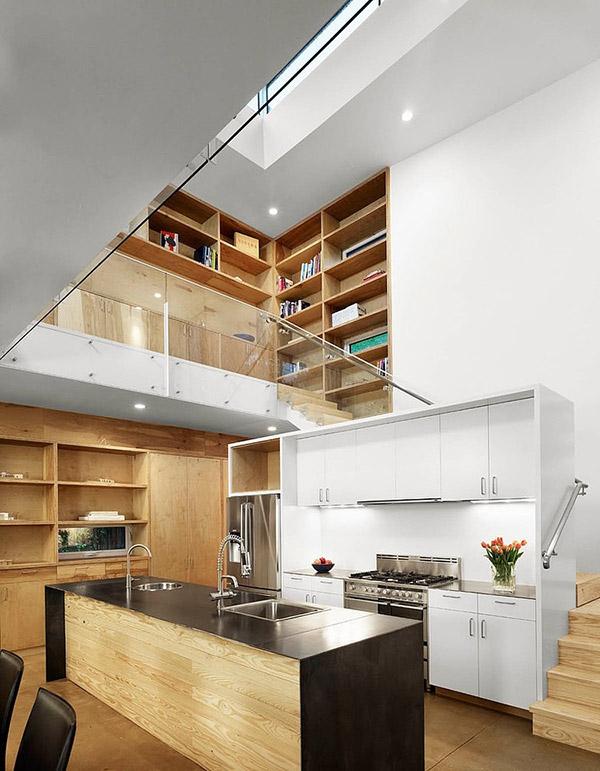 20 Mezzanine Designs in Sloped Ceiling Homes | Home Design Lover