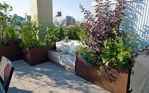 Manhattan Dachgarten Hängematte