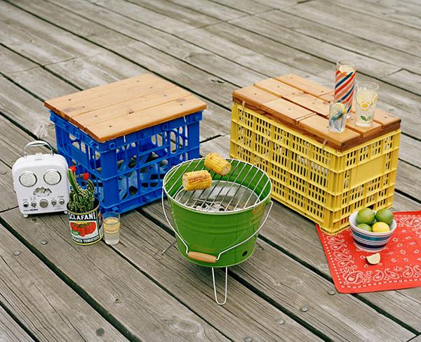 diy outdoor furniture ideas to perk up your gardens | home design