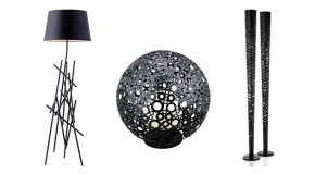20 Attractive and Cool Designs of Black Floor Lamps