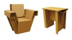 Chairigami: Creative Furniture Made from Cardboard