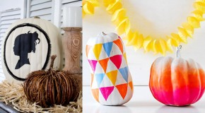 20 Creative DIY Non-Carve Pumpkin Ideas