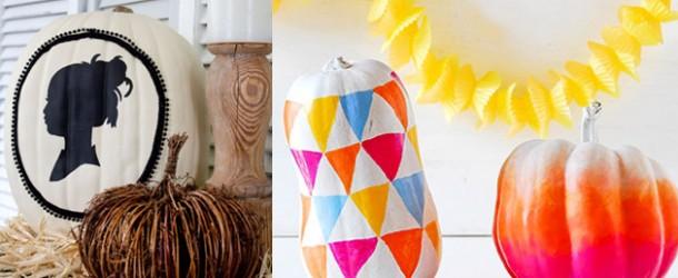 20 Creative DIY Non-Carve Pumpkin Ideas