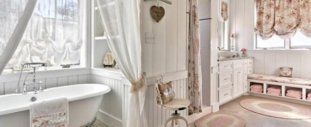 25 Beautiful Farmhouse Style Bathrooms