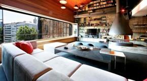 Leading-Edge Interior Designs of the Karakoy Loft in Istanbul, Turkey