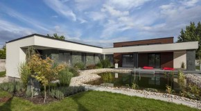 Exceptional T-Shape Ground Plan of the Home in Mosonmagyaro´va´r in Hungary