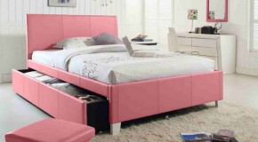 20 Charmingly Beautiful Pink Full Beds