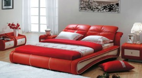 20 Ravishingly Beautiful Red Full Beds