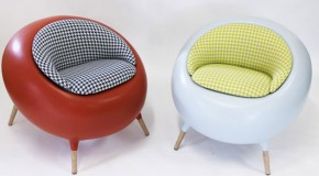 The Flashy Rounded Acari Chair Brings Fun to Any Space