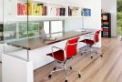 20 Designs of Shared Home Offices for More Productive Work