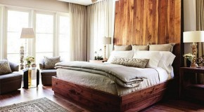 20 Stylish Cuts of Wooden Headboards