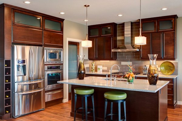 20 modern kitchen backsplash designs | home design lover