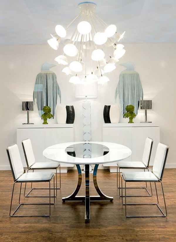 20 Awe-Inspiring Art Deco Dining Room Designs | Home Design Lover