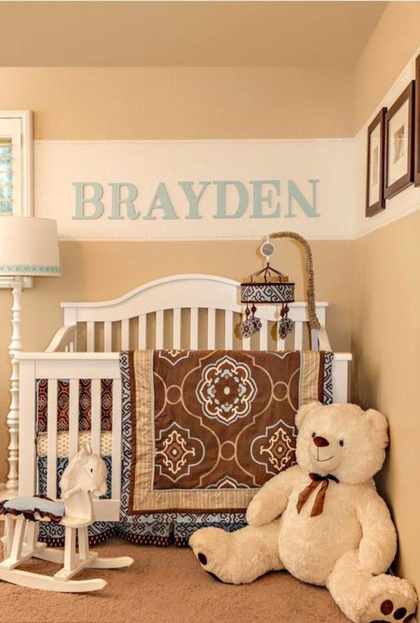 Personalized Boy Nursery