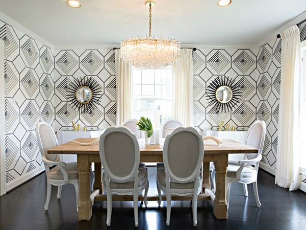 20 Awe Inspiring Art Deco Dining Room Designs Home Design Lover
