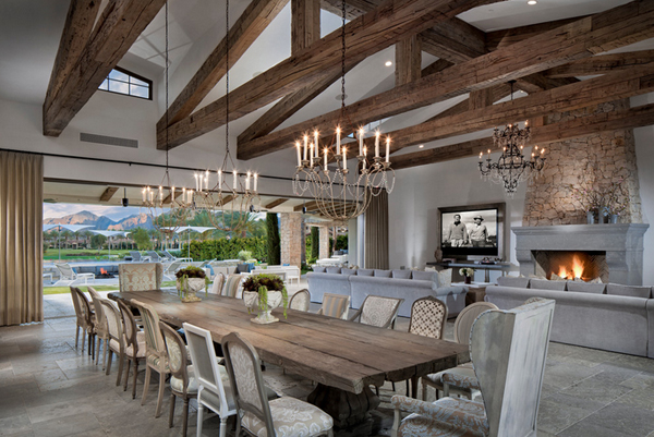 20 Flat Screen TV Furniture in the Dining Room | Home Design Lover