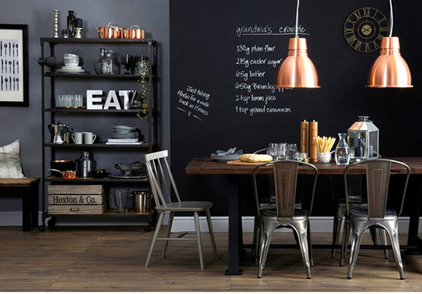 Industrial Dining Room Table 20 no nonsense industrial dining room designs | home design lover