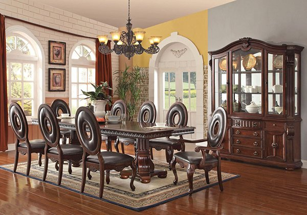 Awesome Deborah Victorian Dining Table Set