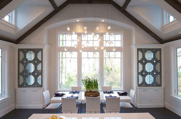 20 small dining room lighting designs home design lover. Black Bedroom Furniture Sets. Home Design Ideas