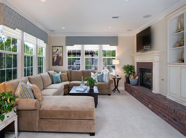 Awesome San Diego Family Room. Sectional Sofa