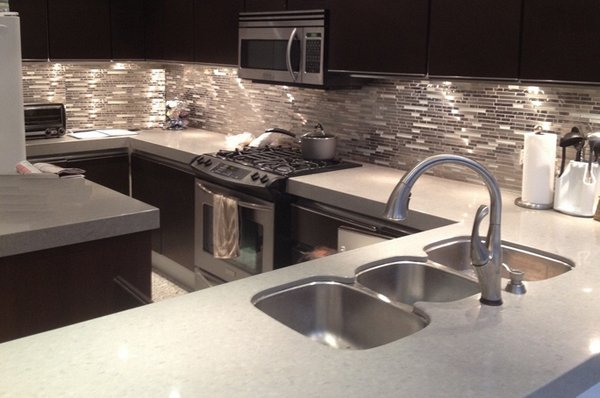 Modern Kitchen Backsplash 20 modern kitchen backsplash designs | home design lover