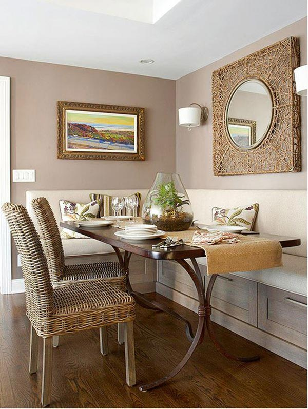 20 small dining room lighting designs home design lover for Better homes and gardens dining room ideas