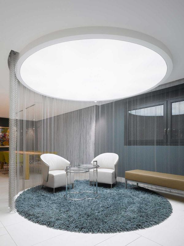 big ceiling light