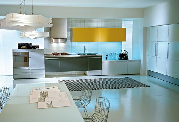 Vinylboden Kuche Fliesenoptik : Awesome Modern Kitchen Design Ideas