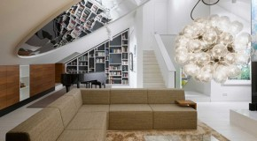 Luxurious and Trendy Interior Style of Sch Stuttgart Apartment in Germany