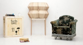 Flexible and Intriguing Design of the Accordion Cabinet