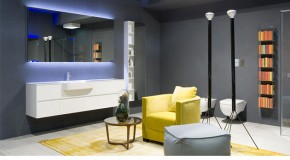 Elegant Bathroom Systems and Wall Cabinets from Antonio Lupi