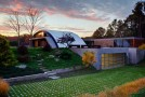 Exceptional Arch Structure Reveals in the Arc House in New York
