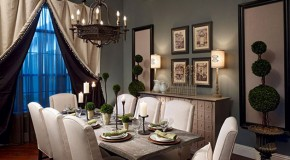 20 Dining Room Window Treatment Ideas