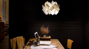 Escape-S Lamp Looks Like Dominoes Tossed in the Air