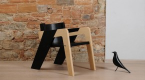 Easy Assembly Modern Wooden IO Chair by Juan Ochoa
