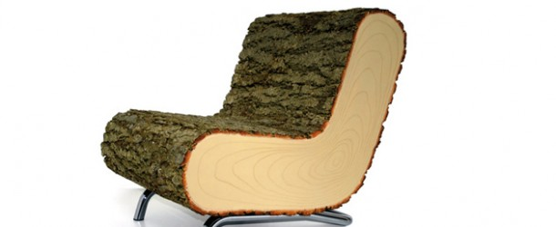 NatureV2.01 Furniture Covered with Real Tree Bark